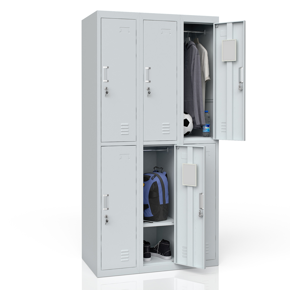Casier vestiaire casier m tallique casier armoire m tallique casier 6 ebay - Armoire metallique vestiaire ...