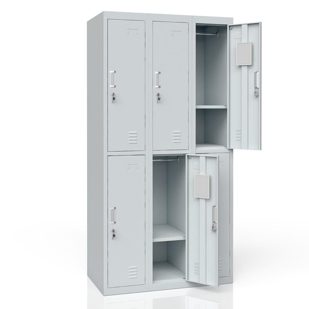 Casier vestiaire casier m tallique casier armoire m tallique casier 6 ebay - Armoire casier metallique ...