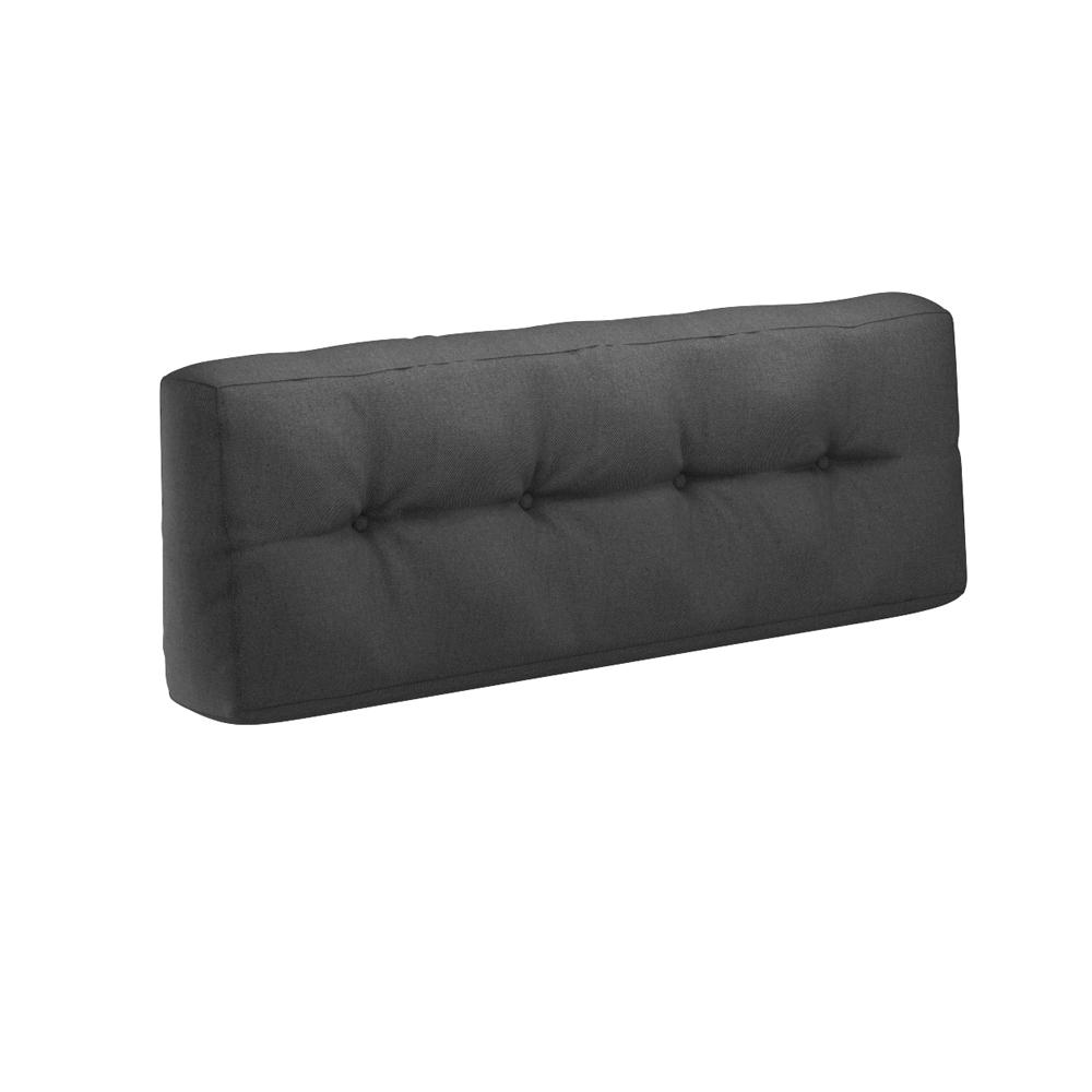 Coussin palette sofa oreiller int rieur anthracite for Sofa europaletten