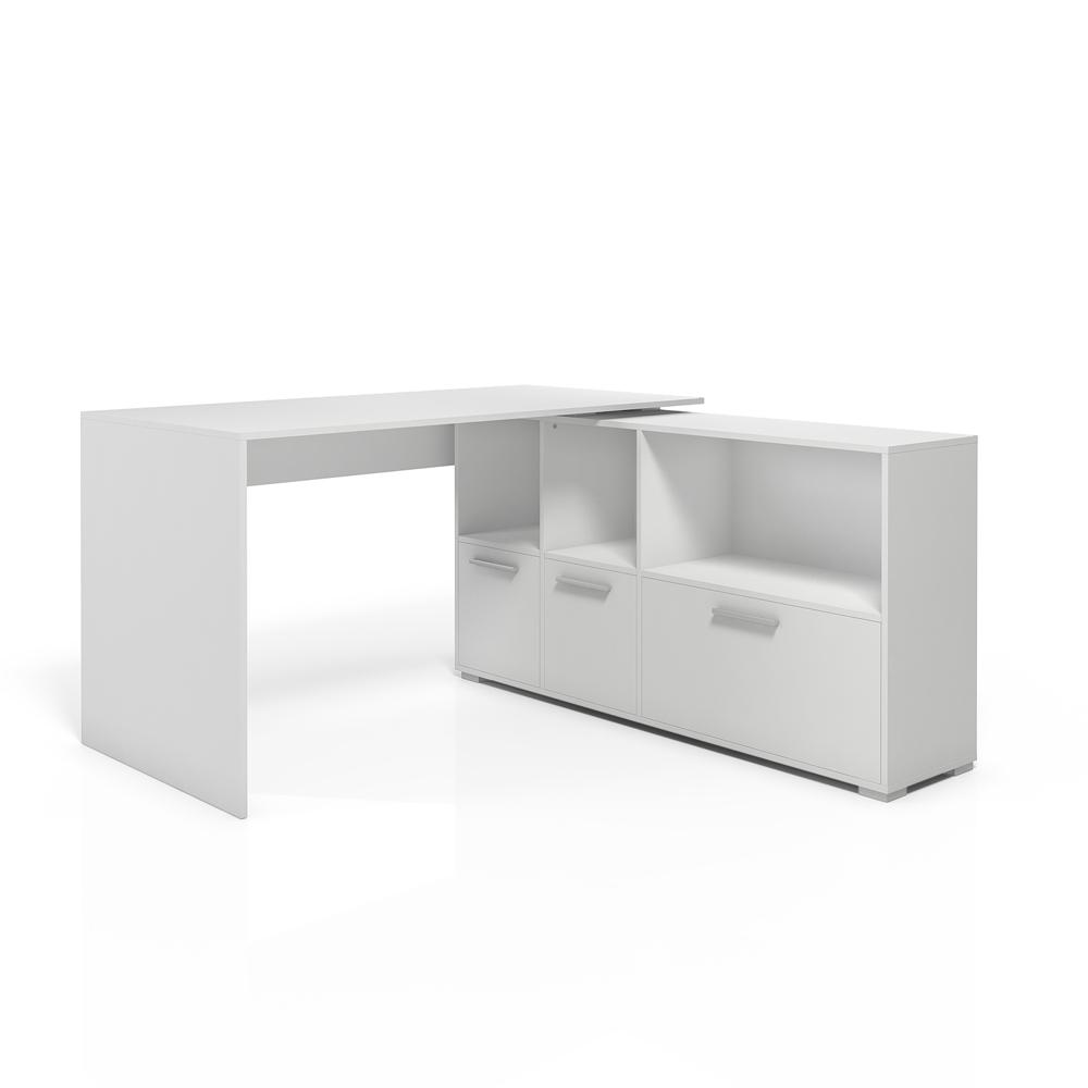Desk Corner Desk Wrap Around Desk Computer Desk White Ebay