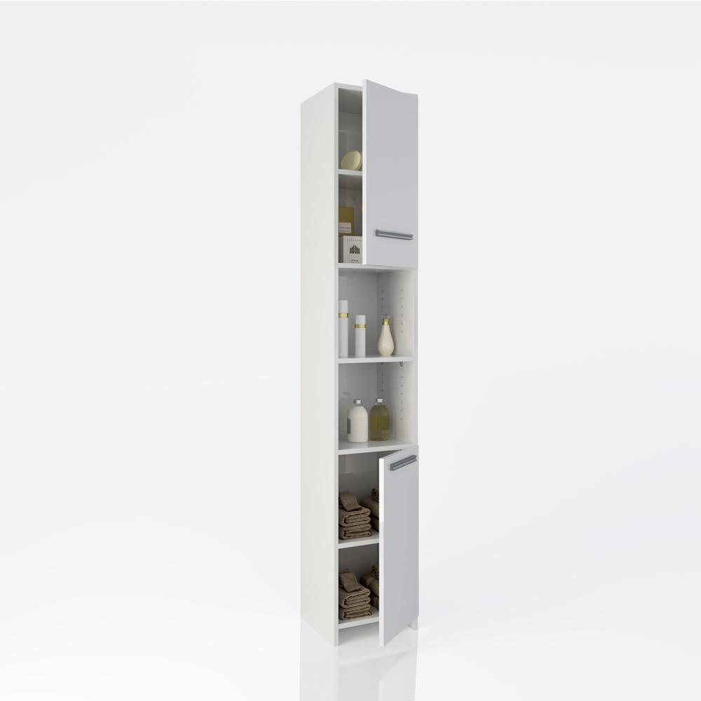 Estanter a de ba o madera armario de ba o estante de ba o for Estanteria madera bano
