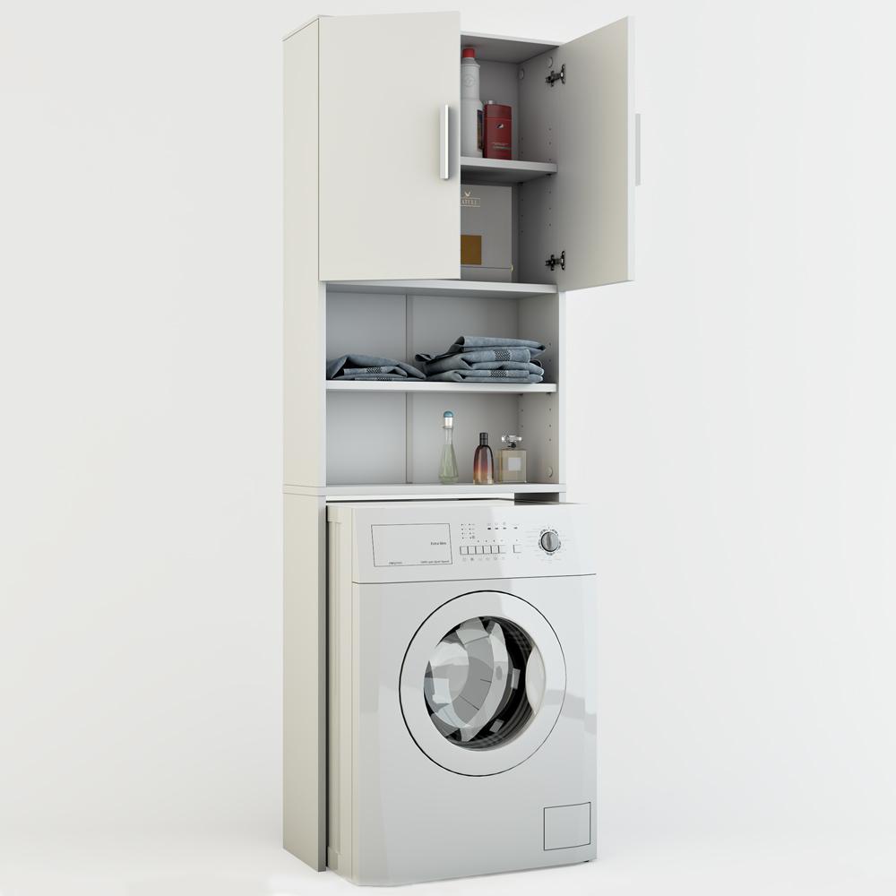 estanter a para ba o armario alto lavadora superestructura. Black Bedroom Furniture Sets. Home Design Ideas