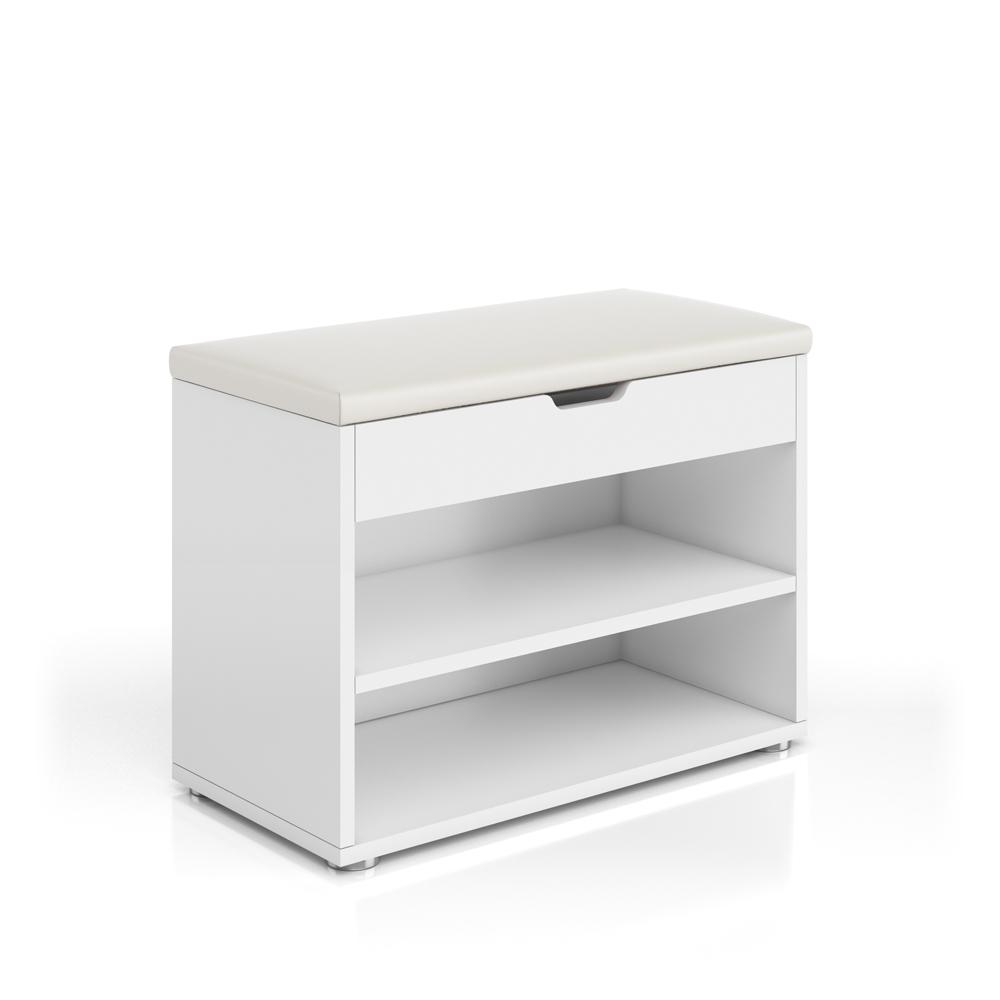 meuble chaussures banquette surface d 39 assise banc tiroir 6 paires de chaussure ebay. Black Bedroom Furniture Sets. Home Design Ideas