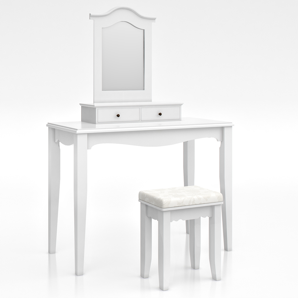 dressing table stool makeup table storage mirror bedroom vanity table cheverny ebay. Black Bedroom Furniture Sets. Home Design Ideas