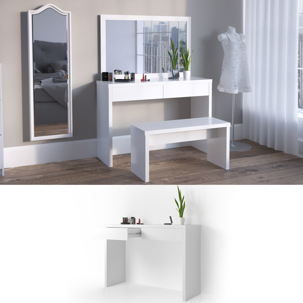 Dressing Table Vanity Dresser Bedroom Makeup Desk Viola