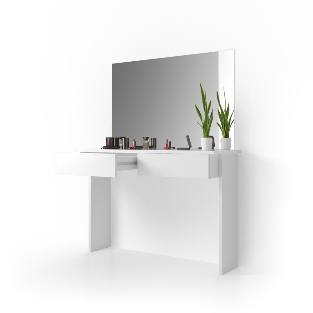 meuble de maquillage azur coiffeuse commode table de. Black Bedroom Furniture Sets. Home Design Ideas
