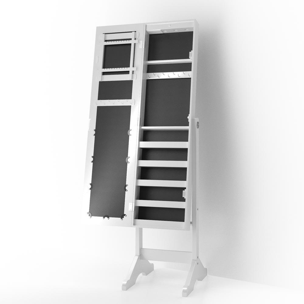 armadio con specchio armadio per gioielli led specchio