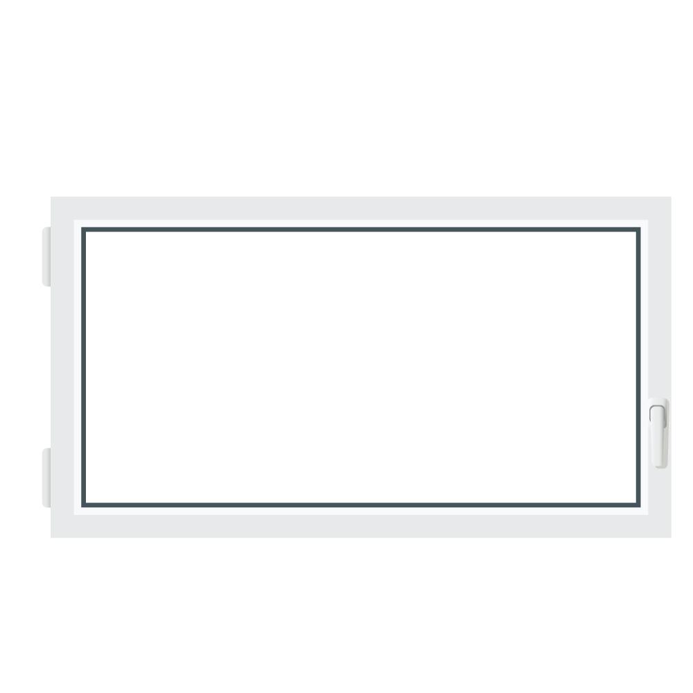 Fen tre de sous sol triple vitrage pivotante basculante for Fenetre basculante