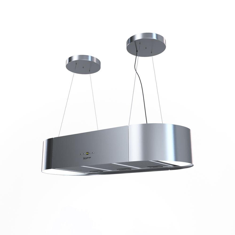 bergstroem design extractor cooker hood island hood