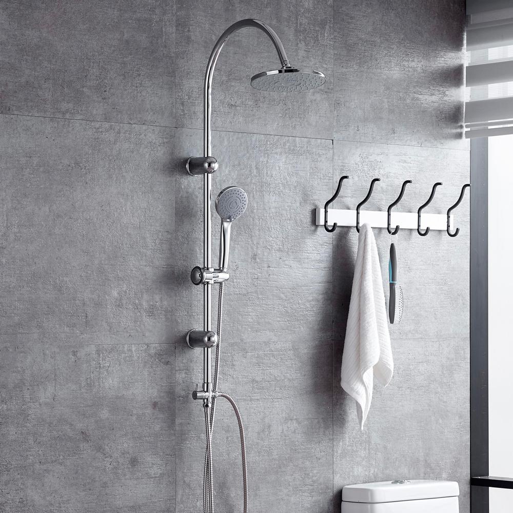 Doccia colonna doccia rubinetto doccia soffione doccino - Cambiare rubinetto bagno ...