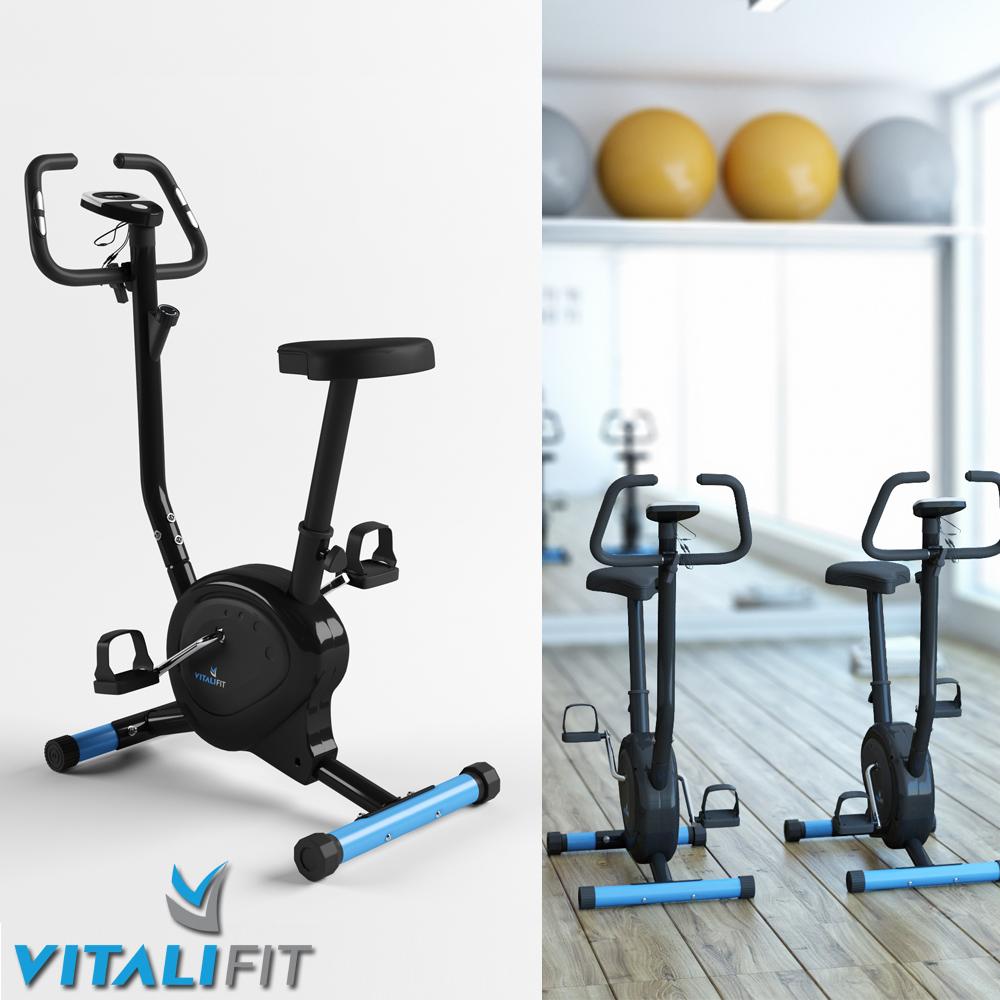 vitalifit hometrainer ergom tre v lo d 39 exercice v lo de fitness appareil ebay. Black Bedroom Furniture Sets. Home Design Ideas