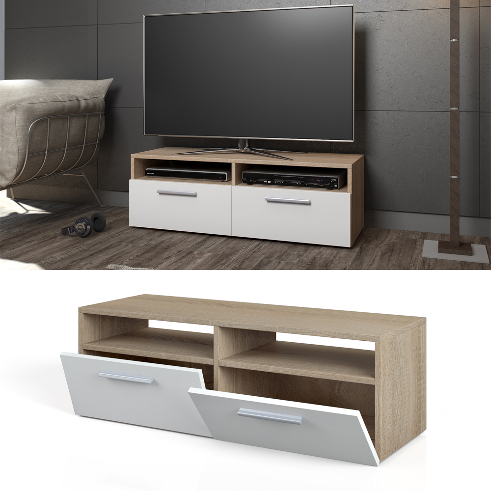 tv lowboard board cupboard tv table sideboard shelf rack. Black Bedroom Furniture Sets. Home Design Ideas