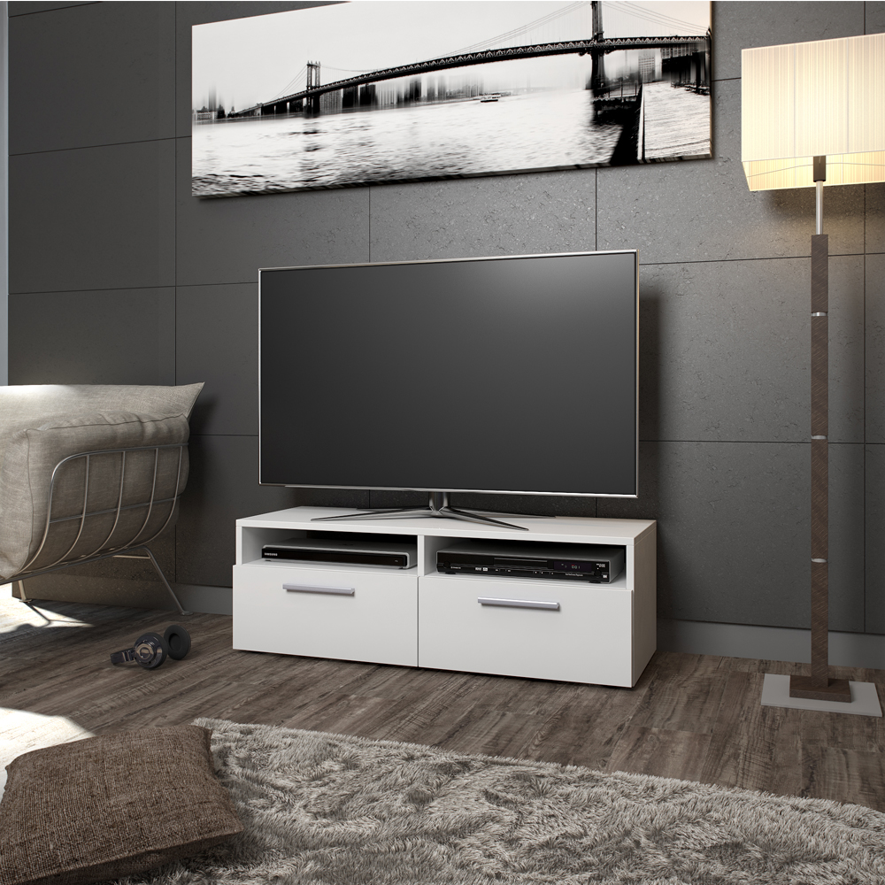 Tv lowboard board cupboard tv table sideboard shelf rack for Sideboard lowboard