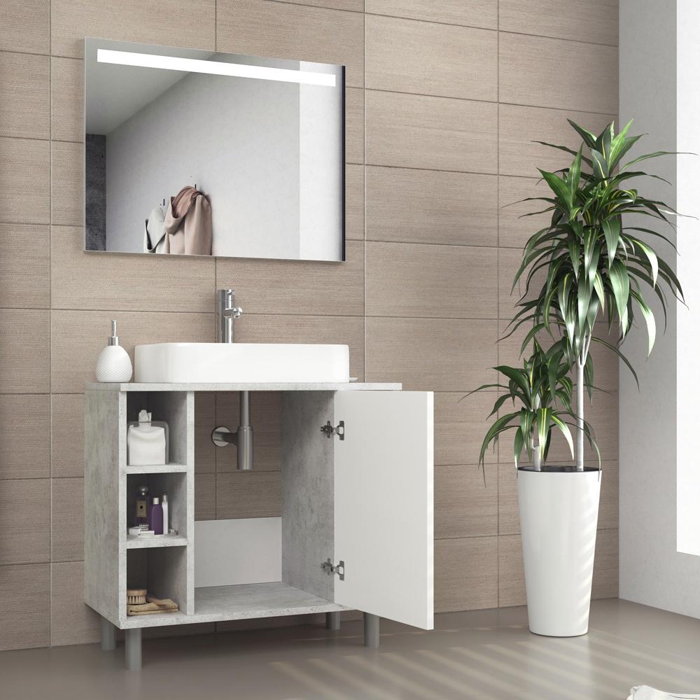 Armadietto lavabo armadietto bagno armadietto lavandino for Armadietto bagno