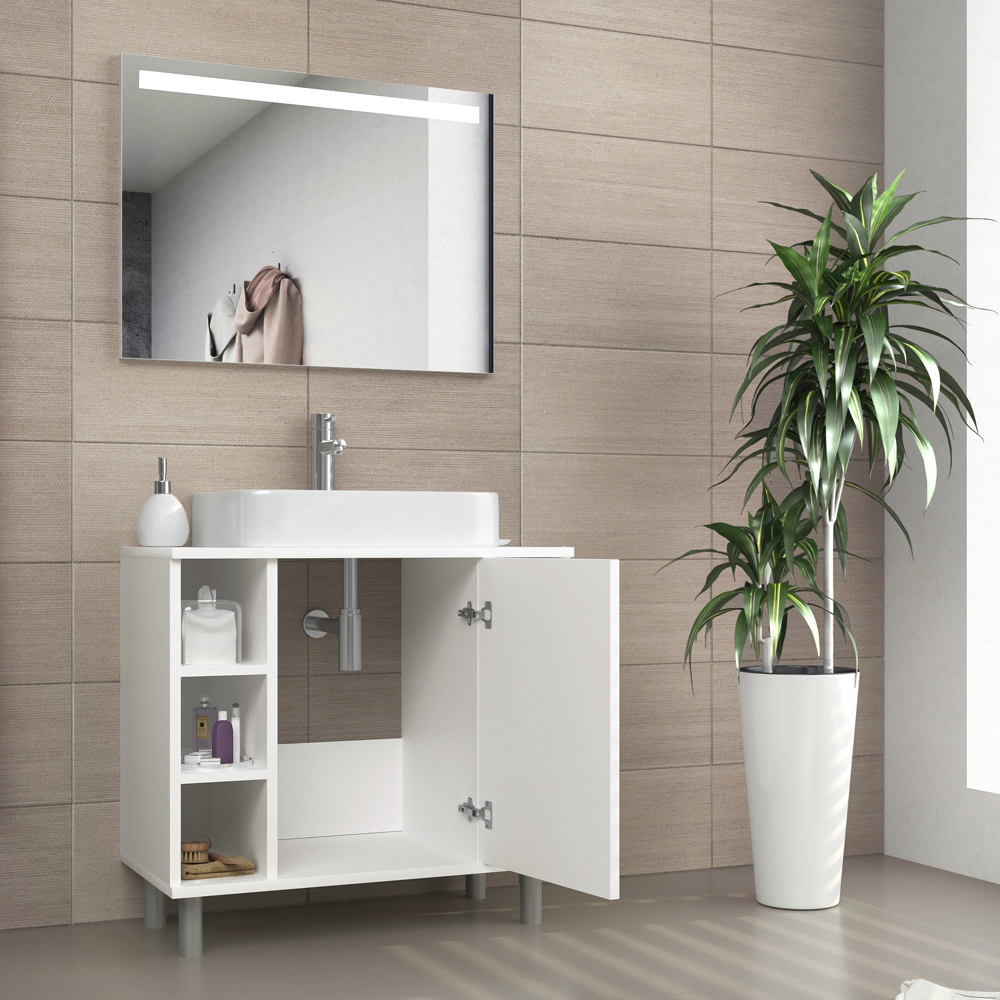 Washbasin Cabinet Bathroom Cabinet Basin Cabinet Bathroom Furniture Concrete