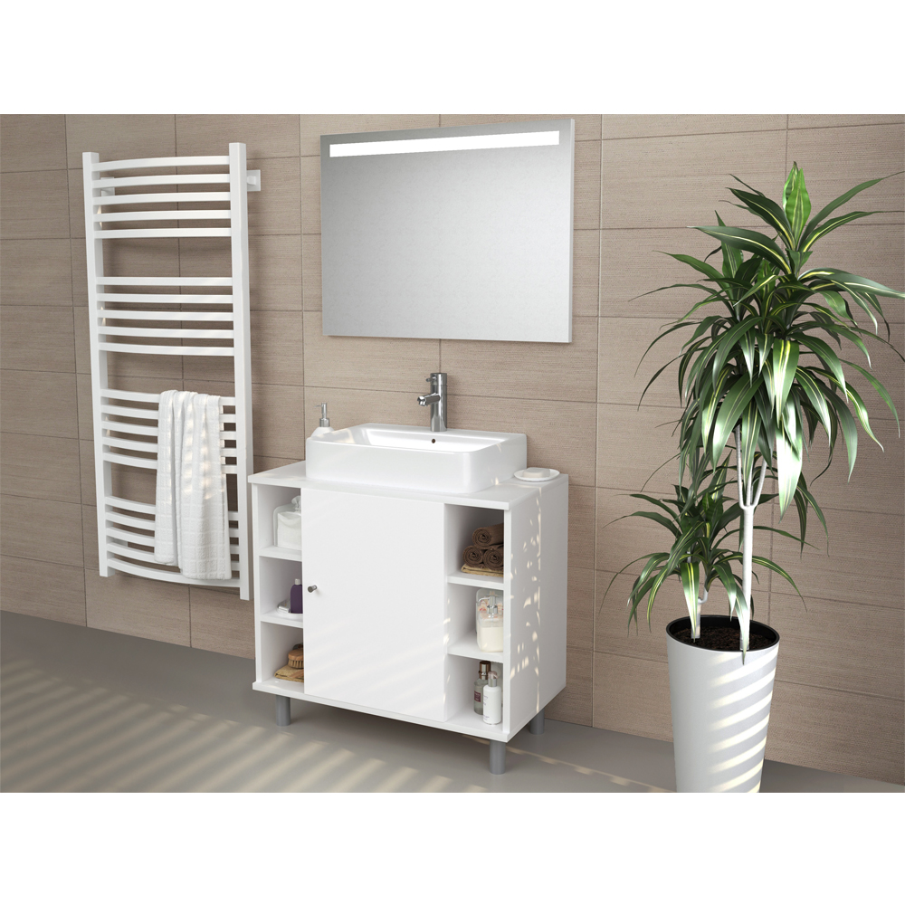 meuble sous lavabo armoire de bain meuble sous vasque meuble de salle de bain ebay. Black Bedroom Furniture Sets. Home Design Ideas