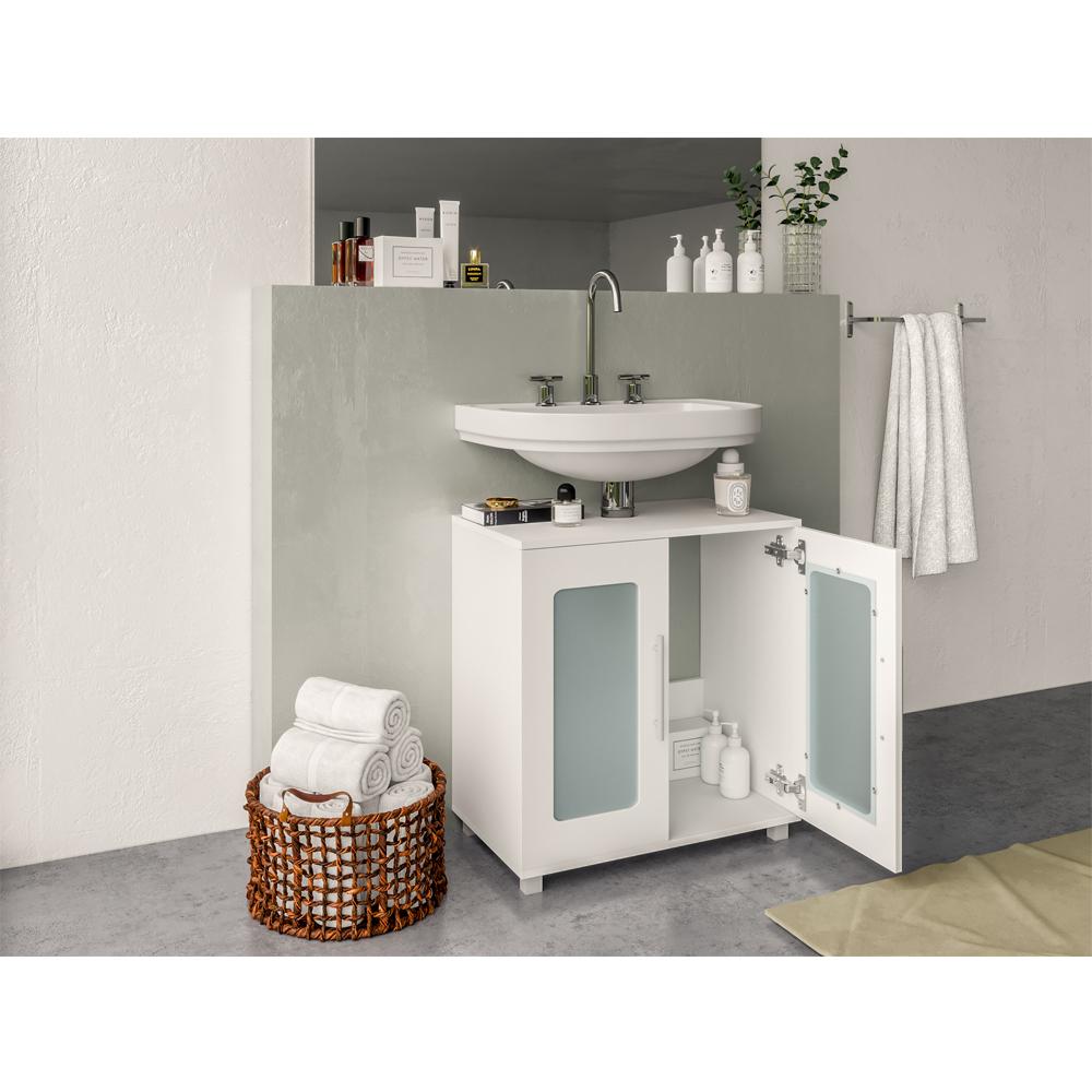 Meuble sous lavabo armoire de bain meuble sous vasque for Lavabo vasque salle de bain