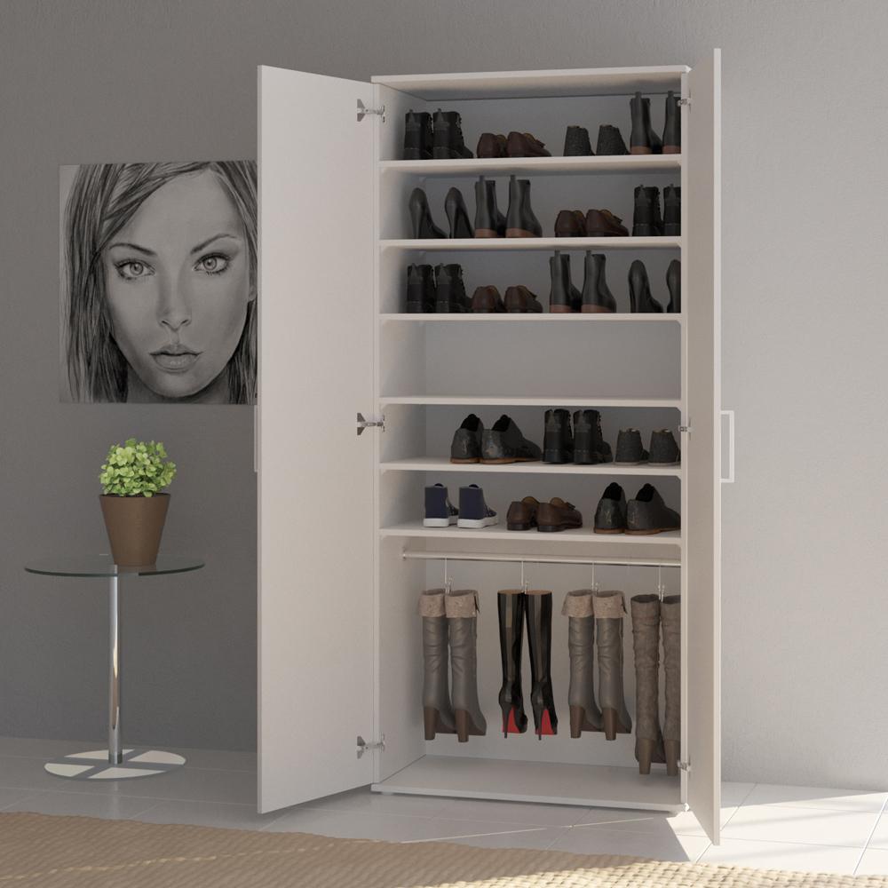scarpiera mobiletto portascarpe armadio a muro armadietto per stivali scarpe ebay. Black Bedroom Furniture Sets. Home Design Ideas