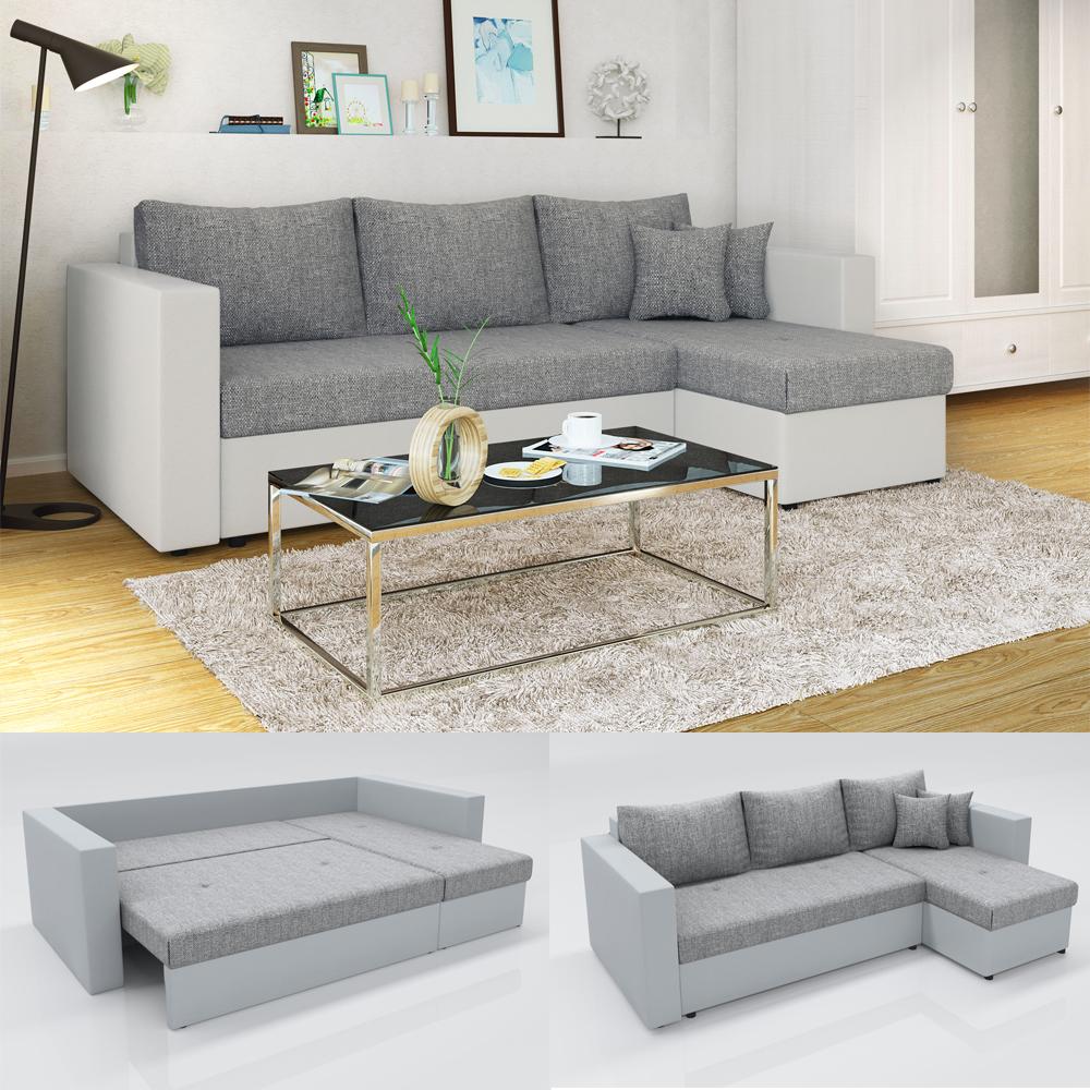 Canap d 39 angle avec fonction lit sofa canap canap for Canape qui s allonge