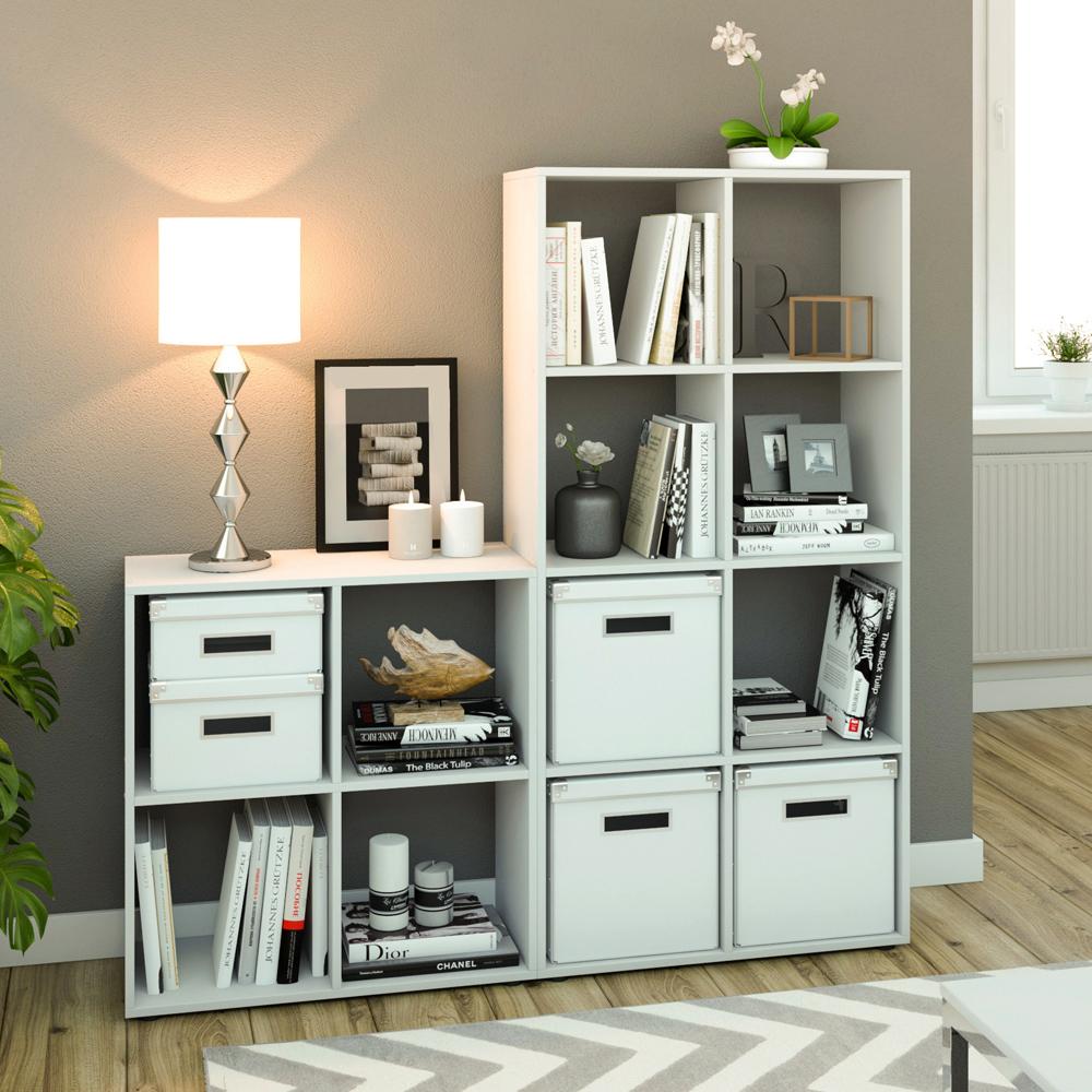 Libreria scaffale libreria divisoria etagere scaffale con 4 comparti