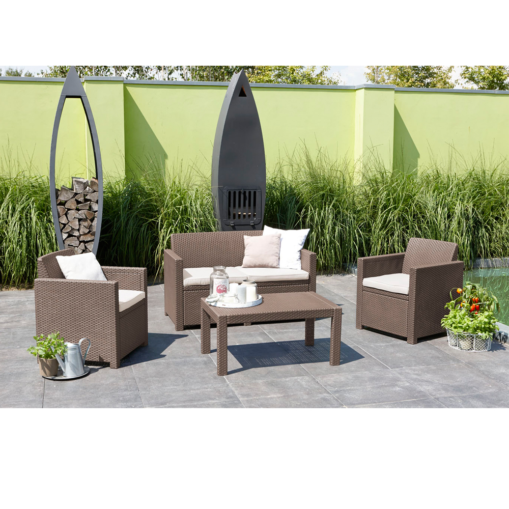 Salon De Jardin Allibert Hawaii Lounge Set