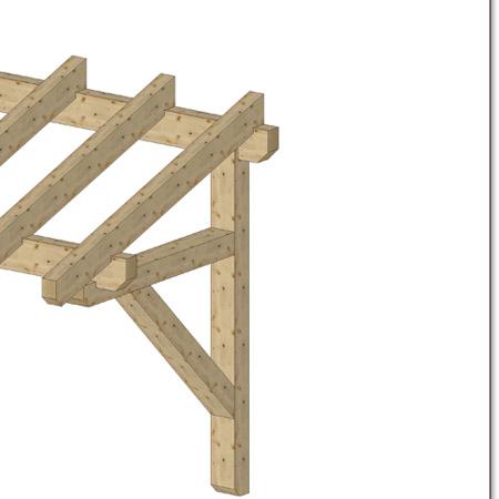 holz vordach pultvordach massivholz kreative ideen ber. Black Bedroom Furniture Sets. Home Design Ideas