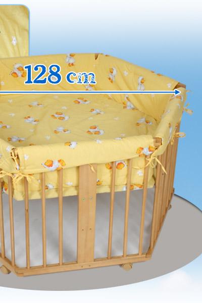 baby laufgitter laufstall 6 eck h henverstellbar einlage. Black Bedroom Furniture Sets. Home Design Ideas