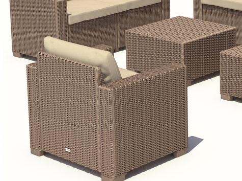 gartenmöbel lounge set ~ kreative ideen über home design