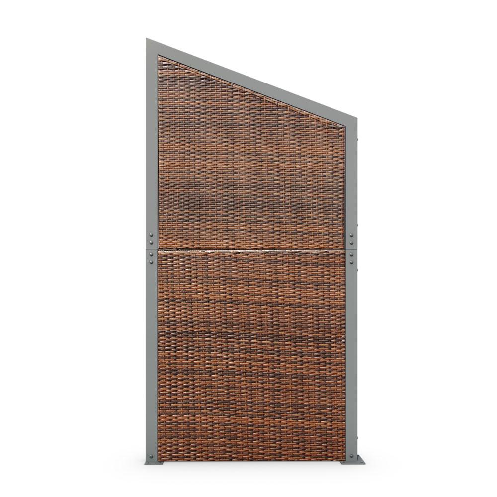 rattan sichtschutz windschutz polyrattan sichtschutzwand. Black Bedroom Furniture Sets. Home Design Ideas