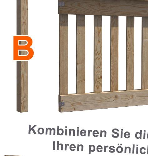 Gartentor DoppelflUgeltor Holz ~ Details zu Gartenzaun Gartentor Holztor Doppelflügelto r Einfahrtstor