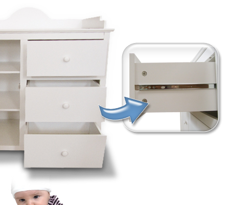 wickeltisch wickelkommode kommode wickelaufsatz baby wickelauflage wickelregal ebay. Black Bedroom Furniture Sets. Home Design Ideas