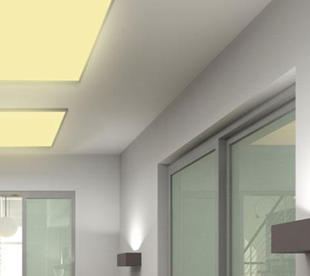 hi power led panel ultraslim warmweiss slim lampe leuchte 30x30 62x62 120x30 ebay. Black Bedroom Furniture Sets. Home Design Ideas