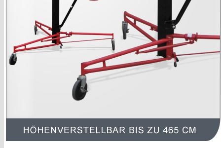 paneelheber plattenheber plattenlift montierlift 4 65m ebay. Black Bedroom Furniture Sets. Home Design Ideas